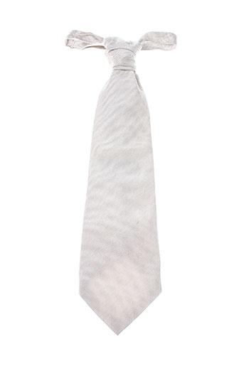 Cravate blanc SMART pour homme