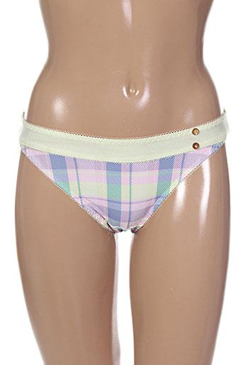 Slip/Culotte vert FREYA pour femme