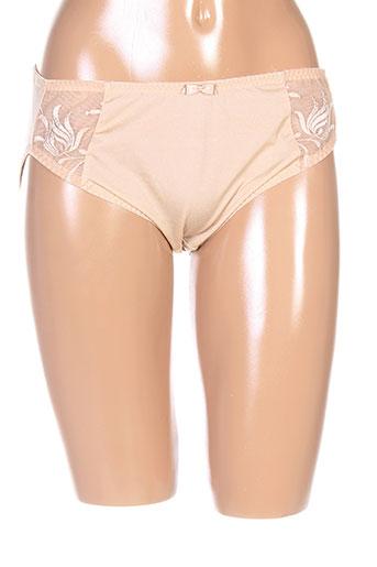 elomi slips et culottes femme de couleur beige