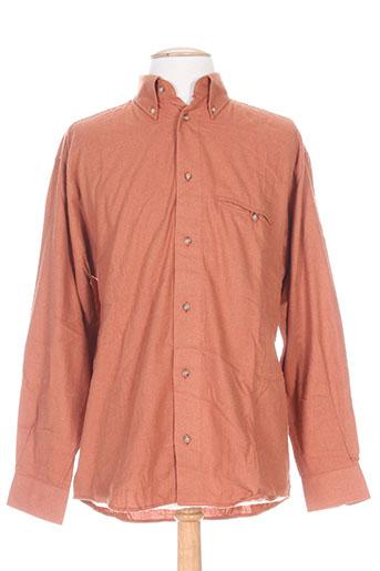 a cause des garçons chemises homme de couleur orange