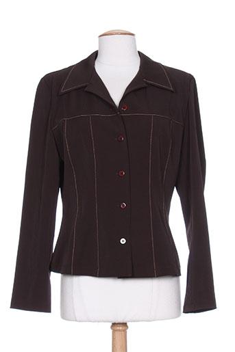 astuces vestes femme de couleur marron