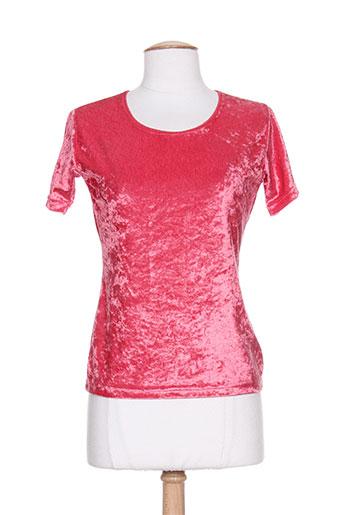american city chemises femme de couleur rose