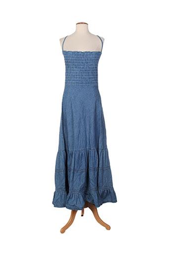 astuces robes femme de couleur bleu