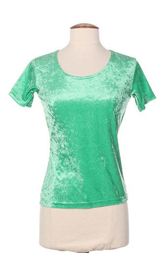 american city t-shirts femme de couleur vert