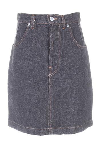 blue spencer jupes femme de couleur noir
