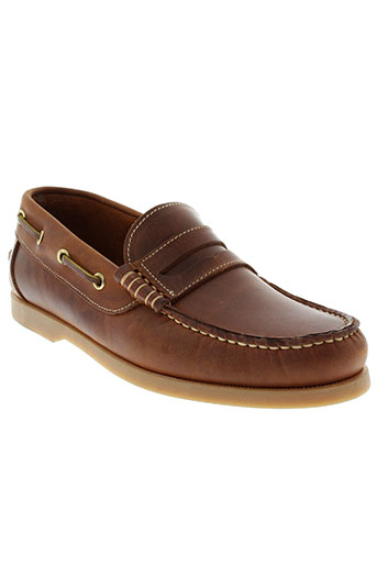 peacock mocassins homme de couleur marron