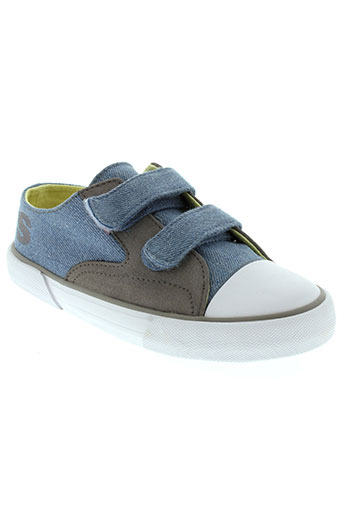 levis chaussures garçon de couleur bleu