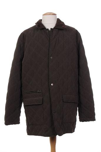 facis manteaux homme de couleur marron