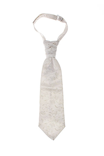 Cravate beige CATOGAN pour homme