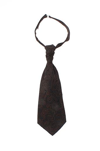Cravate marron FACIS pour homme