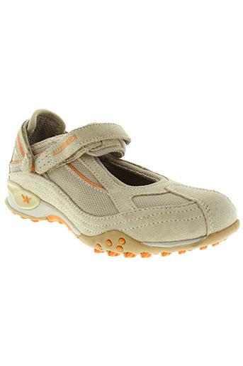 allrounder chaussures fille de couleur beige