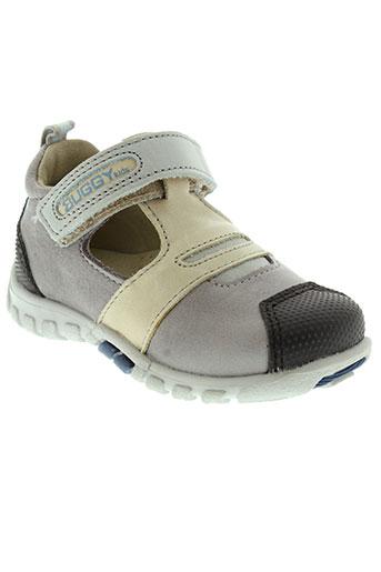 buggy chaussures garçon de couleur gris