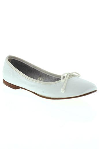 telles qu'elles chaussures femme de couleur blanc