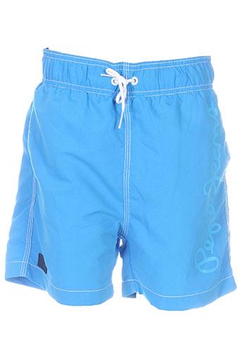 pepe jeans maillots de bain garçon de couleur bleu