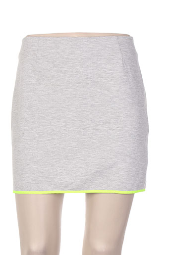 Jupe courte jaune VILA pour femme