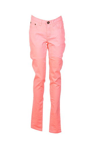 Pantalon casual rose VILA pour femme