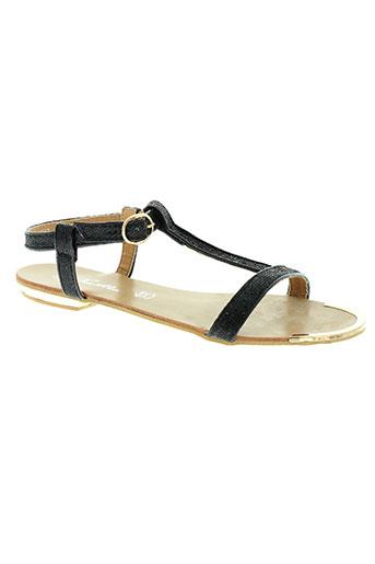 emella chaussures femme de couleur noir