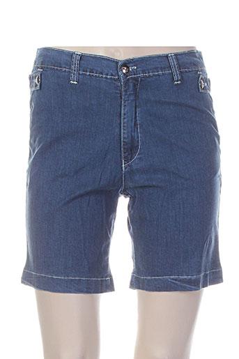 waltron shorts / bermudas femme de couleur bleu