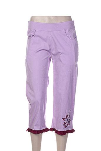 billabong pantacourts femme de couleur violet