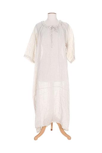 missva robes femme de couleur beige