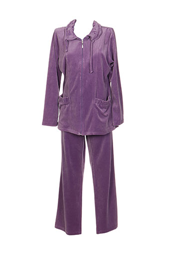 ringella nuit femme de couleur violet