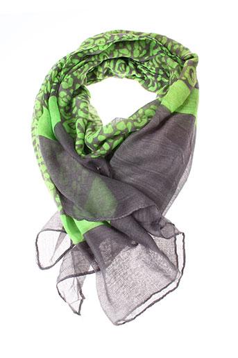 Foulard vert INEL pour femme