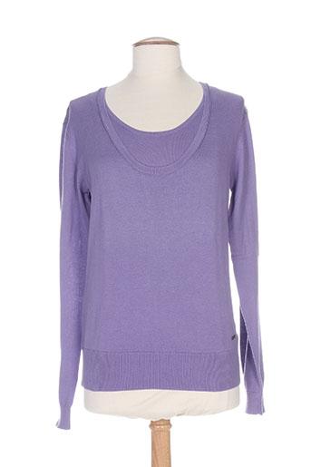 felino pulls femme de couleur violet