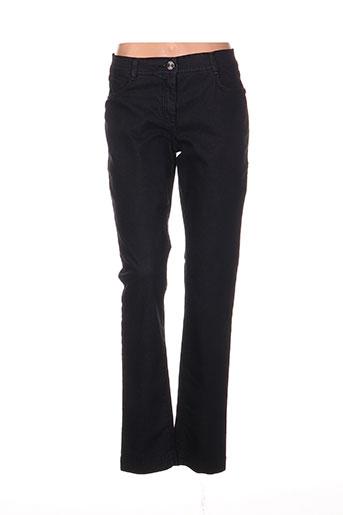 tuzzi pantalons femme de couleur noir