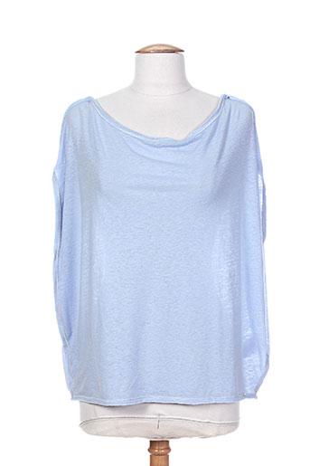 cop copine chemises femme de couleur bleu