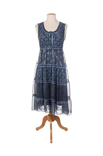 nana nucci robes femme de couleur bleu