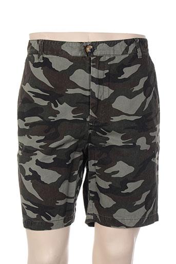 hymn shorts / bermudas homme de couleur vert