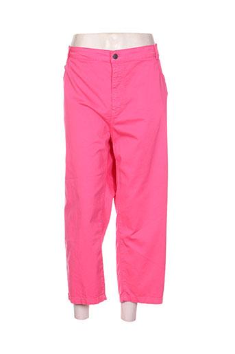 jean gabriel pantacourts femme de couleur rose