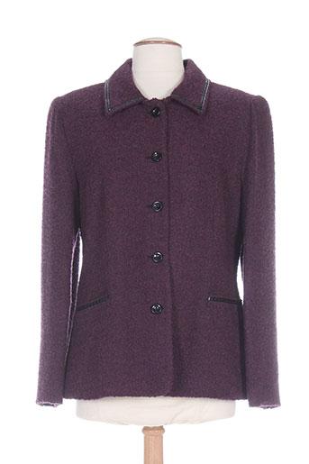 gelco vestes femme de couleur violet