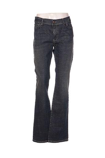 weekend maxmara jeans femme de couleur bleu