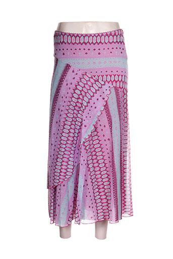 chacok jupes femme de couleur violet