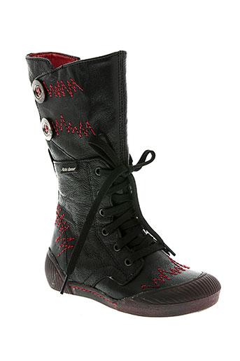 peche d'amour chaussures fille de couleur noir
