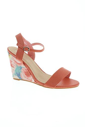 tom EFFI_CHAR_1 eva chaussures femme de couleur orange