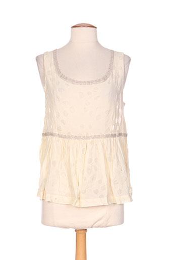 jayko chemises femme de couleur beige