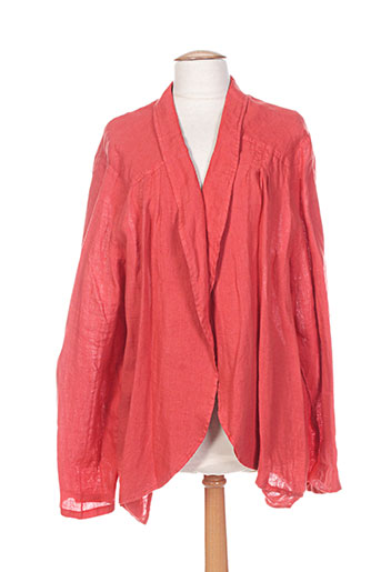 ko.moda vestes femme de couleur orange