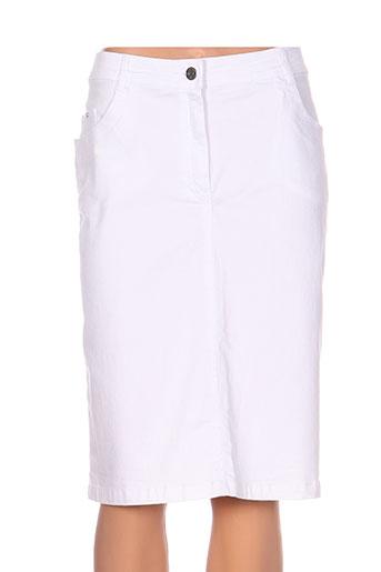 felino jupes femme de couleur blanc