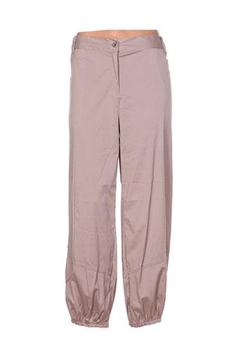 mellem pantalons femme de couleur beige