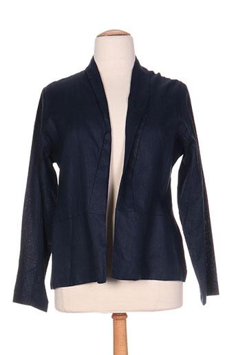 maloka vestes femme de couleur bleu