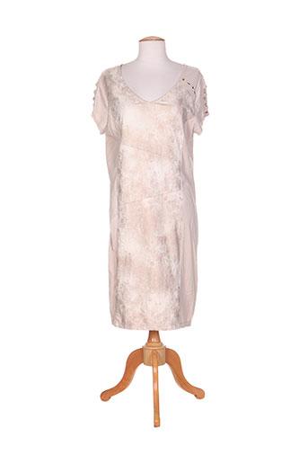 felino robes femme de couleur beige