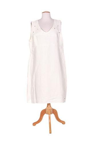 felino robes femme de couleur blanc