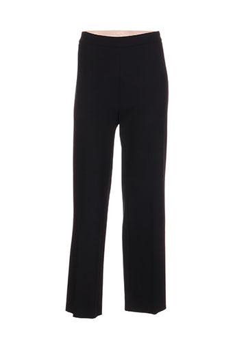 piu piu pantalons femme de couleur noir