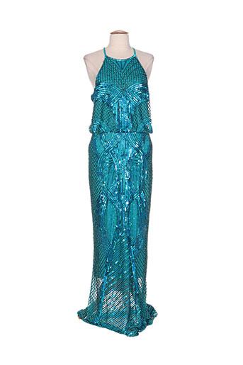 rubyray robes femme de couleur bleu