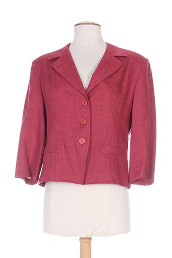 fedora vestes femme de couleur rouge