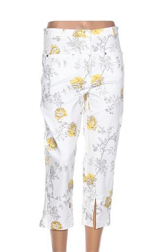 eva kayan pantacourts femme de couleur beige