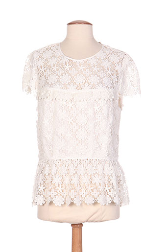 paul EFFI_CHAR_1 joe t-shirts / tops femme de couleur blanc