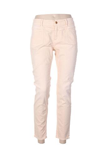 closed jeans femme de couleur rose